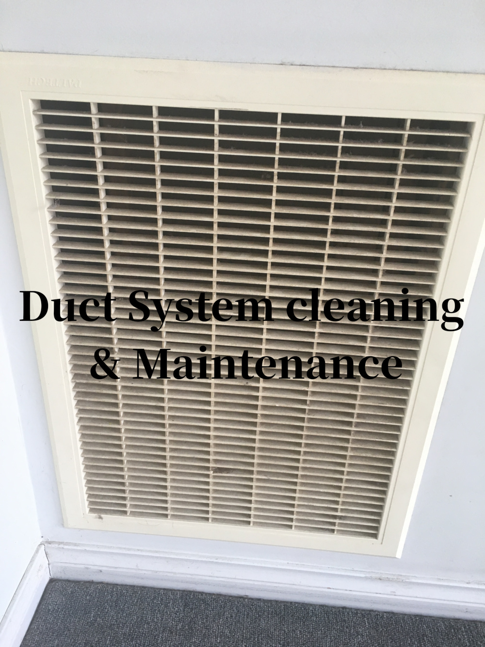duct system cleaning maintenance