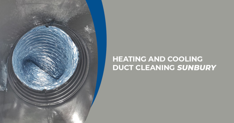 Heating and cooling duct cleaning service Sunbury
