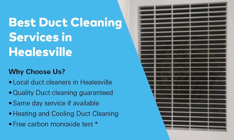 why choose us Duct Cleaning Healesville